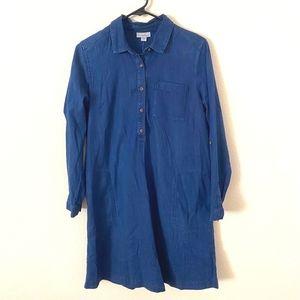 J. Jill Denim Tencel Popover Dress/Tunic